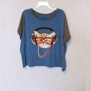 Kitty Graphic Tee 2X